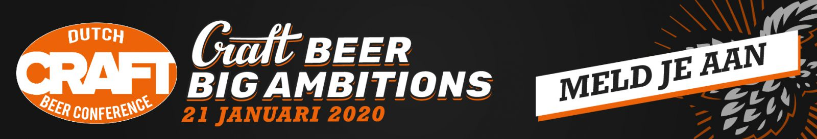 Dutch Craft Beer Conference 2020 - Craft Beer Big Ambitions